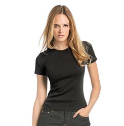 Frauen T-Shirts beducken lassen