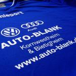 Beflockung Fußball Trikots Auto-Blank Kornwestheim