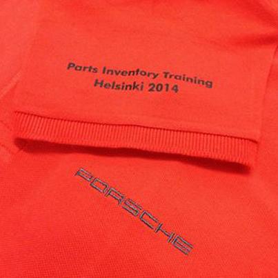 Poloshirts Bestickung Porsche Stuttgart