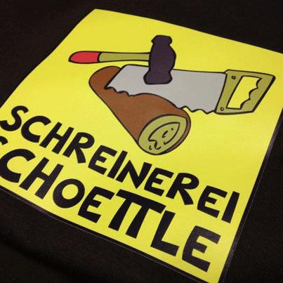 Digitaldruck Schreinerei Schoettle