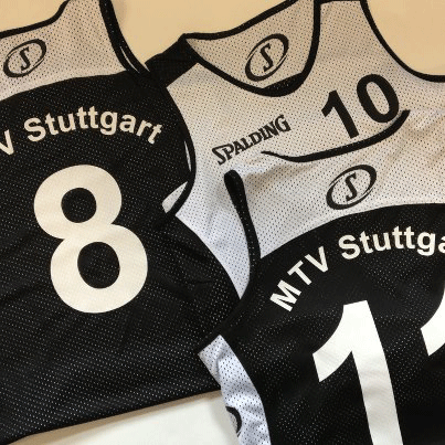 Trikots bedrucken MTV Stuttgart Basketball