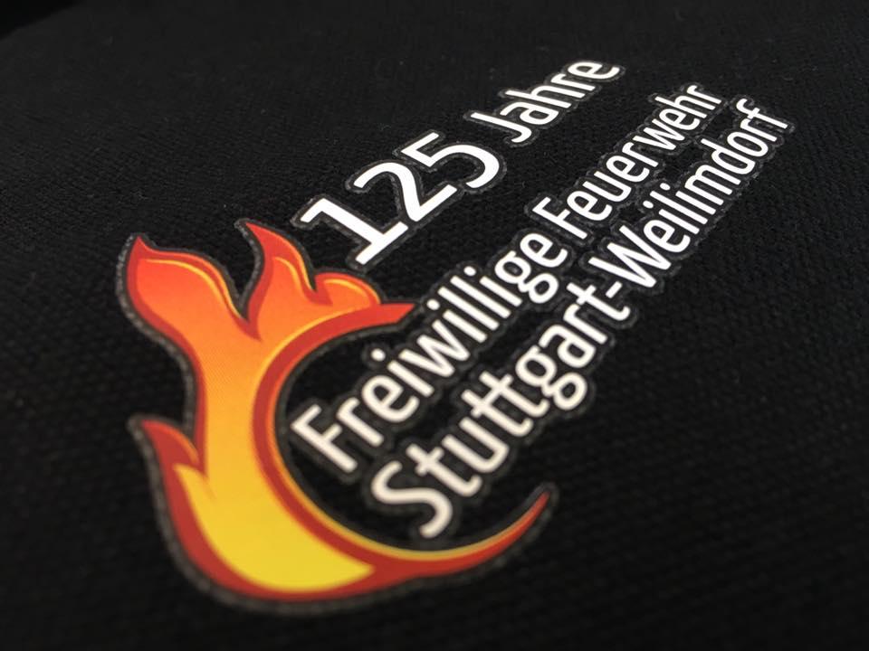 Digitaldruck auf Polos Freiwillige Feuerwehr Stuttgart Weilimdorf