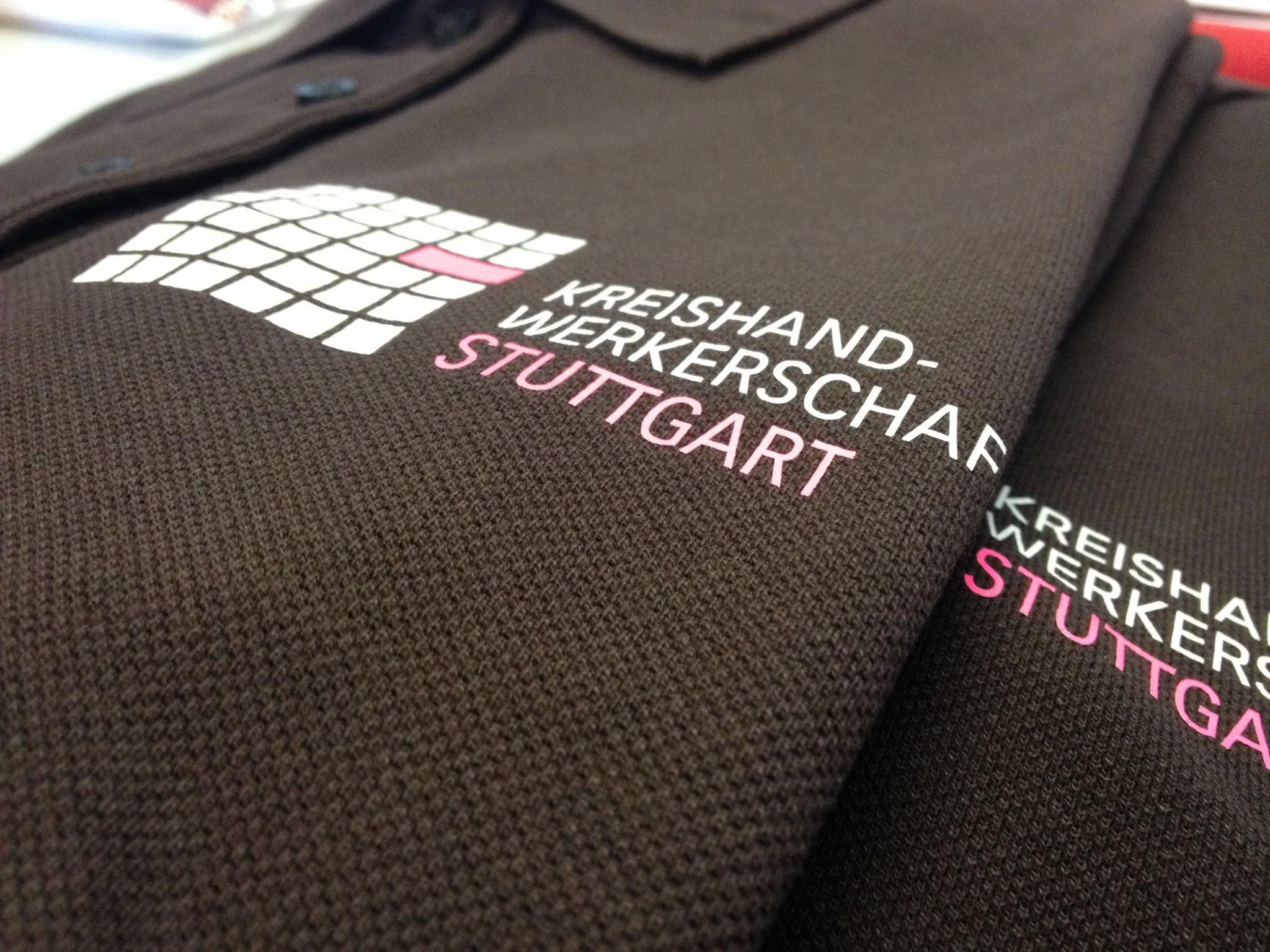 Poloshirts mit Druck Kreishandwerker Stuttgart