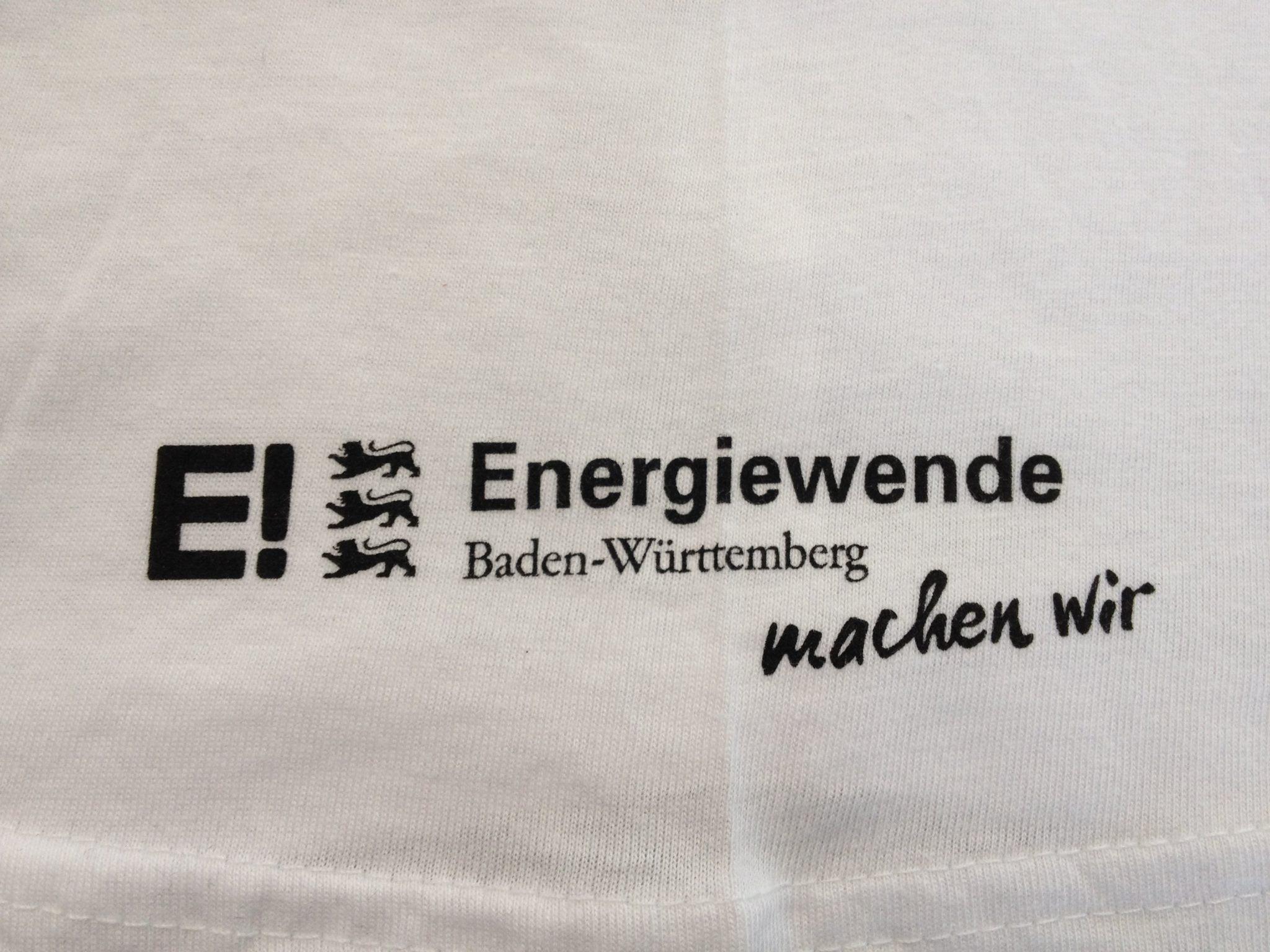 Siebdruck Stuttgart Energiewende