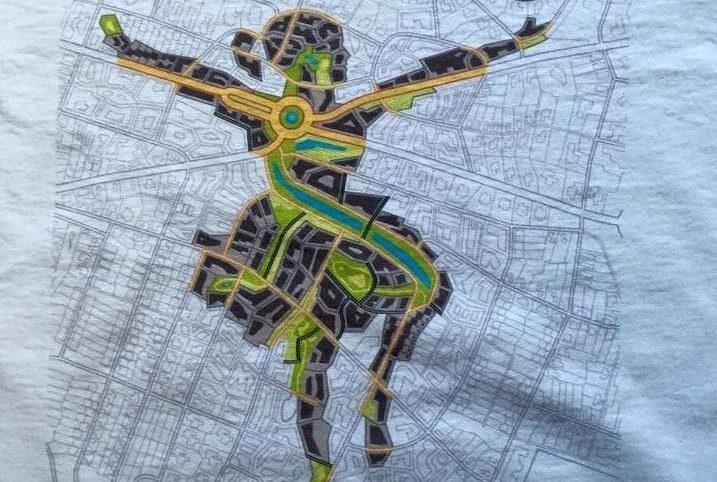 Textildruck auf T-shirt mit Digitaldruck Stuttgart
